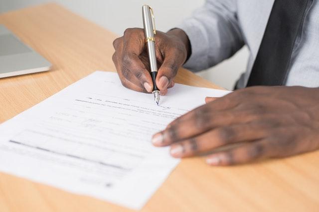 Zorgen over de online handtekening